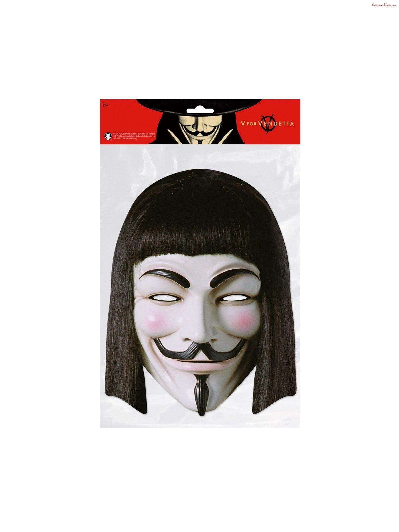 V For Vendetta Facemask Vendetta Facemask V For Vendetta Mask Vendetta Mask V For Vendetta