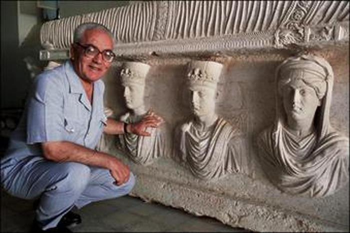 Archeologo capo dei musei di Palmira - Khaled ASSAD