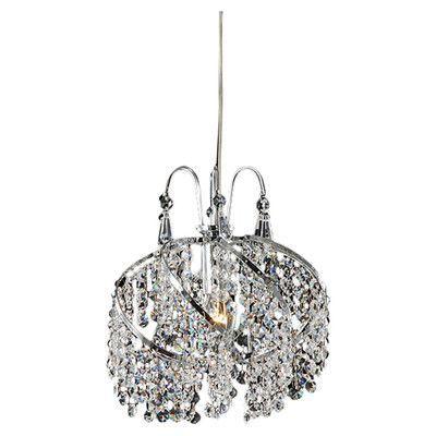 Warehouse of Tiffany 1 Light Crystal Chandelier