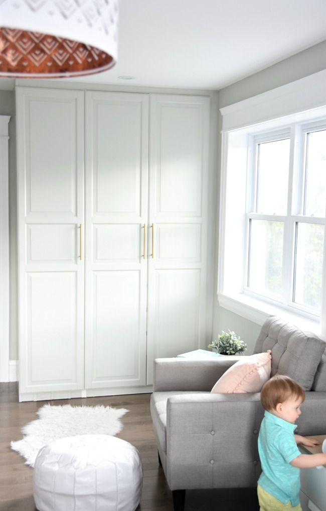 Get A Stunning Closet With This Ikea Pax Hack Ikea Built In