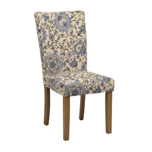 Best Blue Floral Parsons Chair In 2020 Chair Parsons Chairs 400 x 300