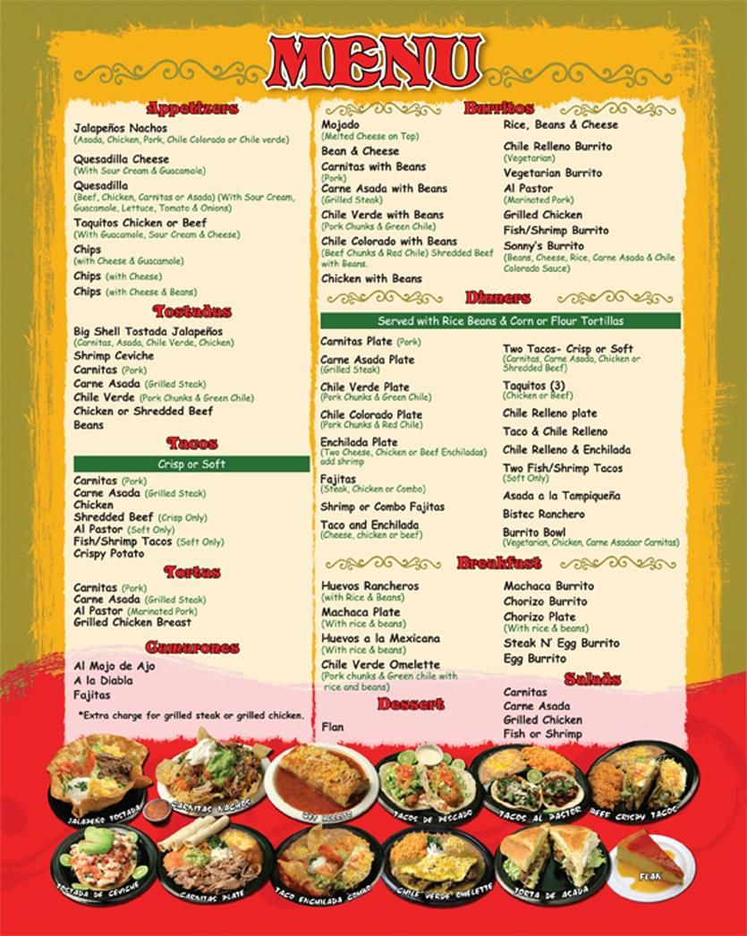 Image Result For Restaurant Menus  English Lesson Ideas