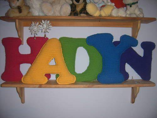 Daughters names in crochet crochet crochet letters with link to daughters names in crochet crochet crochet letters with link to letter pattern thecheapjerseys Choice Image