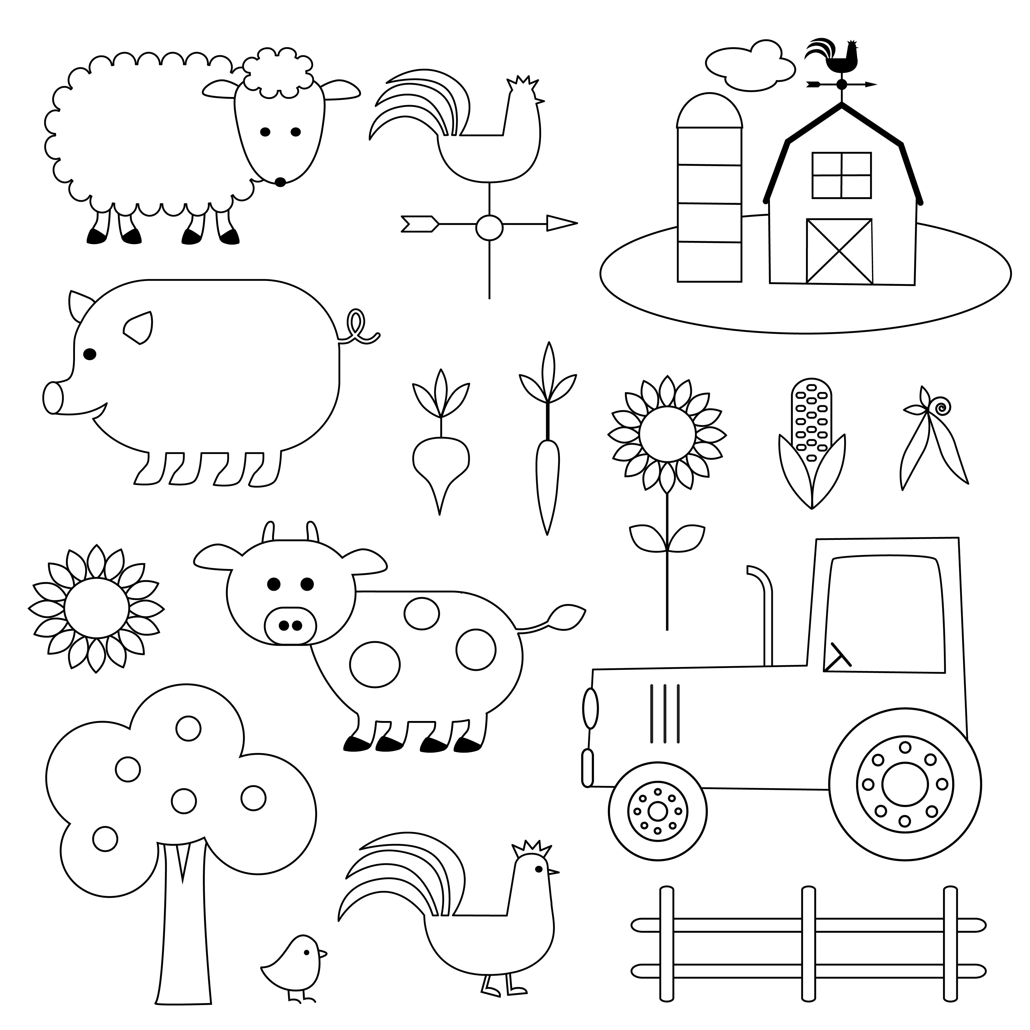 Download Farm Animals Digital Stamps Clipart Vector Art Choose From Over A Million Free Vectors Clipart Graphics Vector Digital Stamps Clip Art Farm Animals
