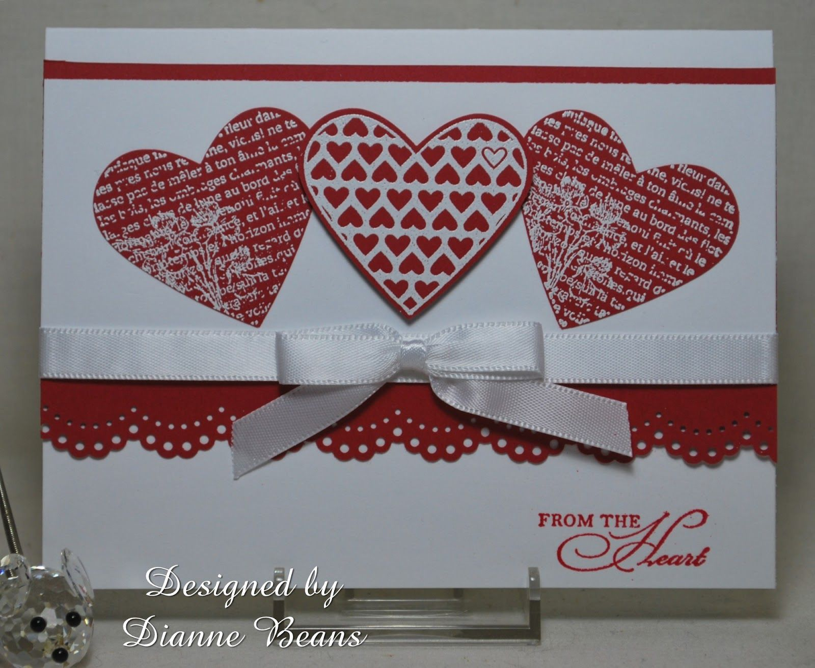 Stamping From The Heart Valentines Valentines Day Cards Handmade Valentine Cards Handmade Stampin Up Valentine Cards