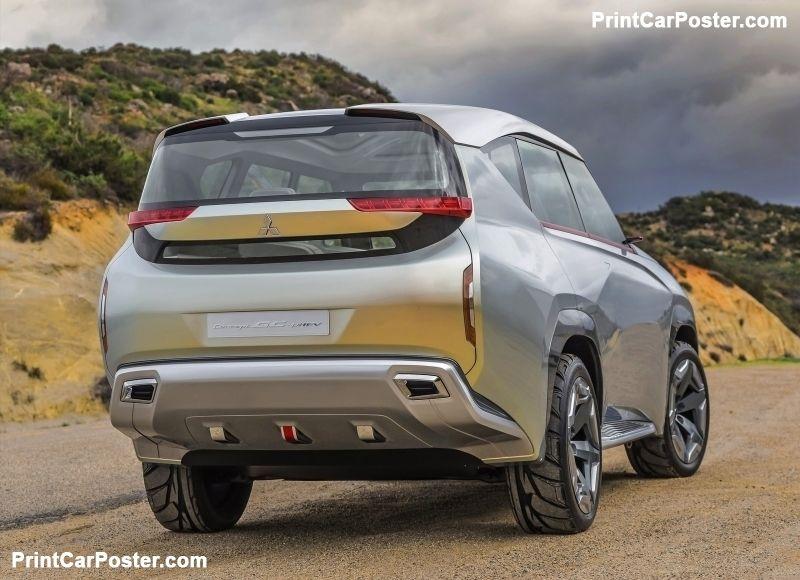 Mitsubishi GCPHEV Concept 2015 poster Mitsubishi pajero