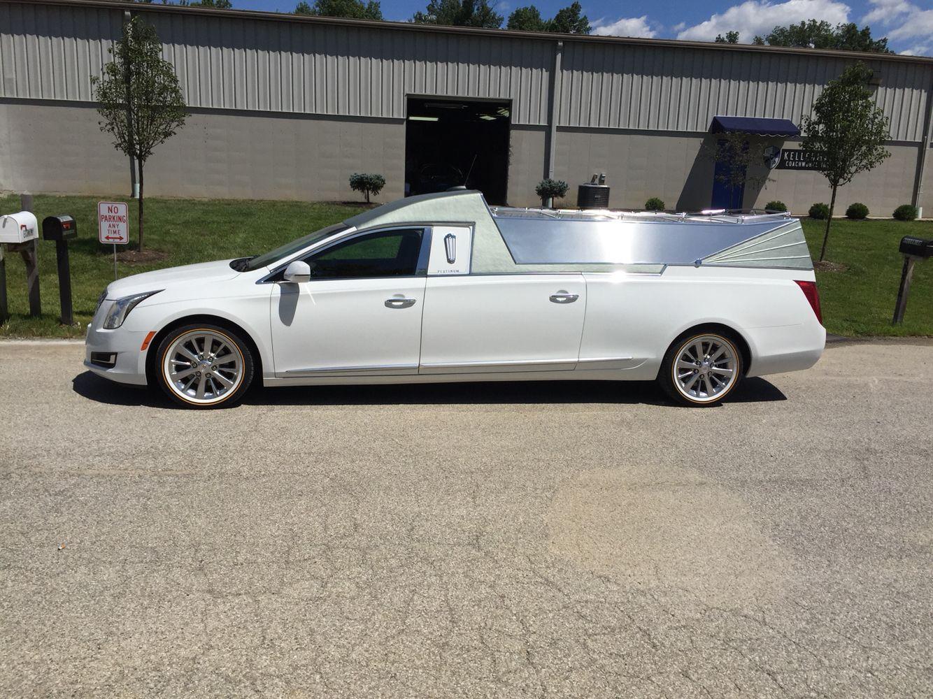 Platinum Cortge Flower Car Hearse Built For William C Harris