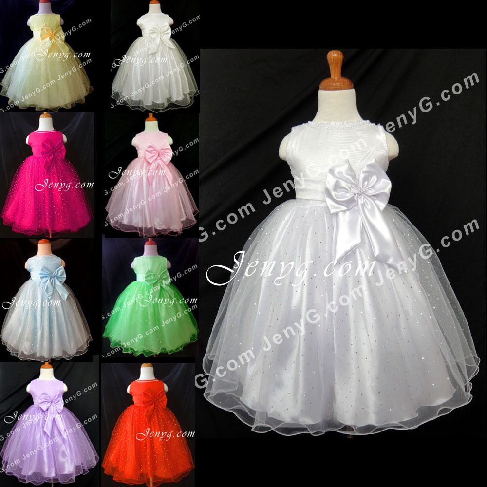 Sb baby girl christening communion pageant birthday formal party