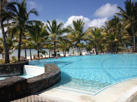 Shandrani Resort & Spa, Mauritius - Lovely pool