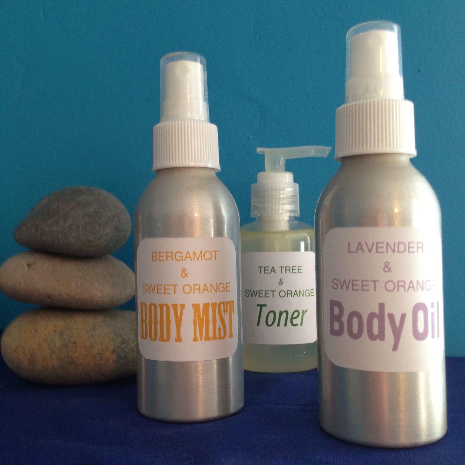 Homemade Body Oil, Body Mist and Toner Body mist, Body