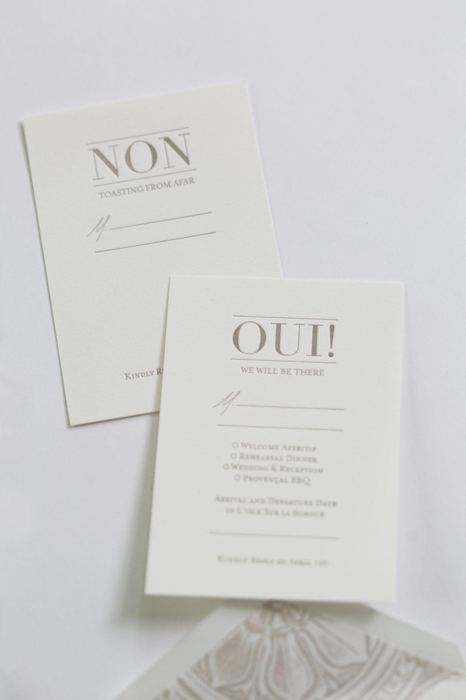 reply to wedding invitation m%0A Yonder Design   Reply Cards  Wedding Invitation  French Wedding  Provence  Wedding  Wedding