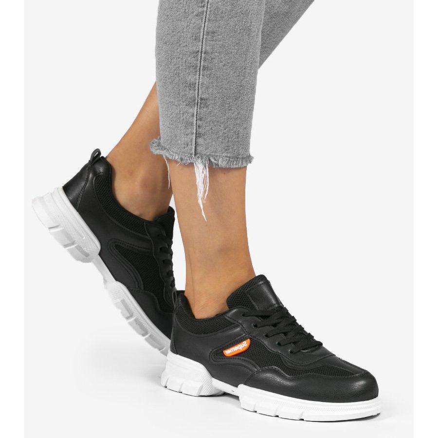 Czarne Modne Obuwie Sportowe C051 Air Max Sneakers Nike Air Max Sneakers Nike