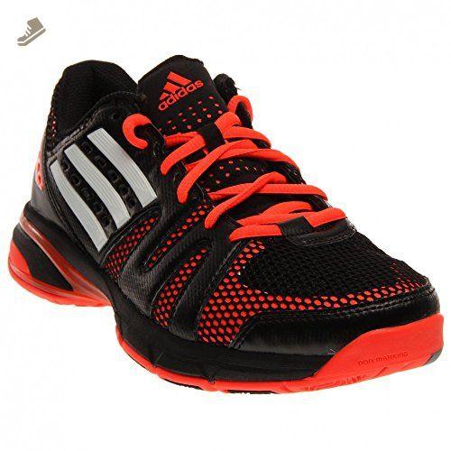 Adidas volley luce rosso - bianco - nero, scarpe femminili di pallavolo