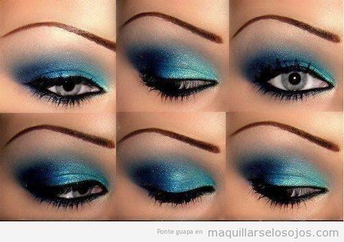 hair makeup - Pintarse Los Ojos
