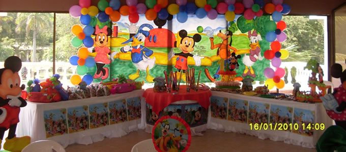 Ideas para decorar tu fiesta infantil fiestas infantiles for Ideas para decorar una recamara
