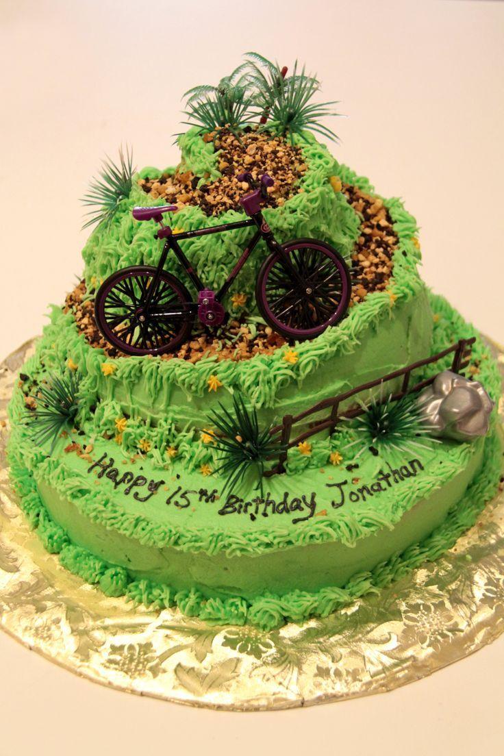 Bike Decoration For Cake : hiker vs. biker - Google Search Cakes Pinterest Cake ...