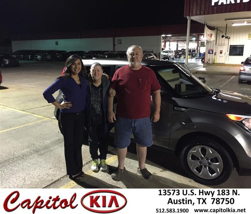 Congratulations to Pamela Blevins on your #Kia #Soul purchase from Cindy Juarez at Capitol Kia! #NewCar
