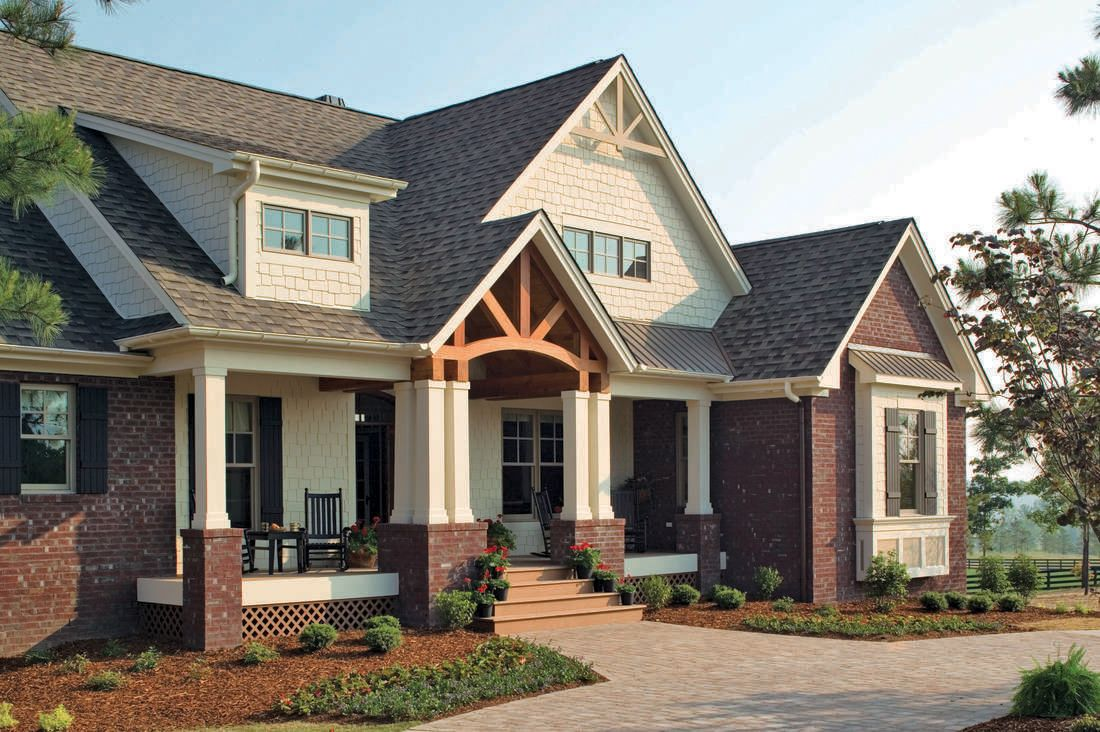 The Cedar Ridge House Plan By Donald A Gardner Architects Craftsman House Southern Living House Plans House Plans
