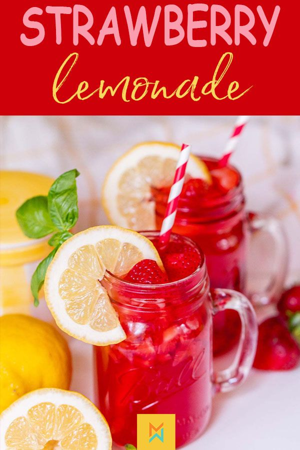 Fresh Strawberry Lemonade Recipe - Meraki Mother