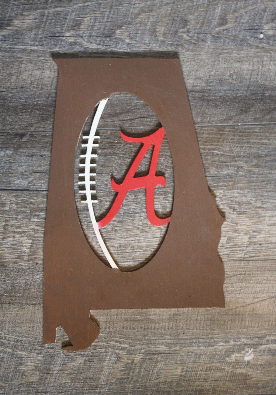 Alabama state football cutout dream home ideas diy