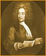 Tomaso Albinoni (1671-1751) was an Italian composer. While famous in his day as an opera composer, he is remembered for his instrumental music.   Born in Venice, he studied violin and singing. In 1694 he dedicated his Opus 1 to Cardinal Pietro Ottoboni. His first opera, Zenobia, regina de Palmireni, was produced in 1694. As a paid violonist he dedicated his Opus 2 to Charles IV. In 1701 he wrote his popular suites Opus 3, and dedicated that  to Cosimo III de' Medici, Grand Duke of Tuscany.