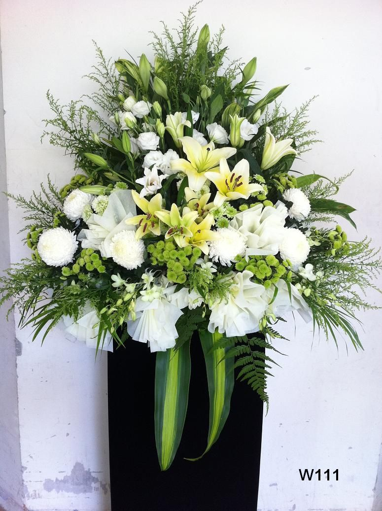 funeral flowers condolences sympathy wreaths Church