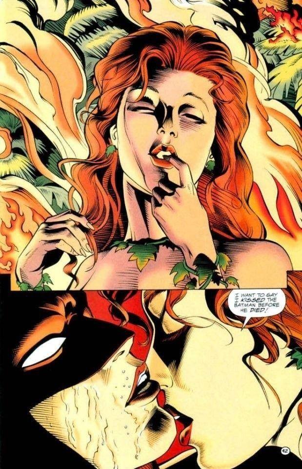 Batman poison ivy kiss of death