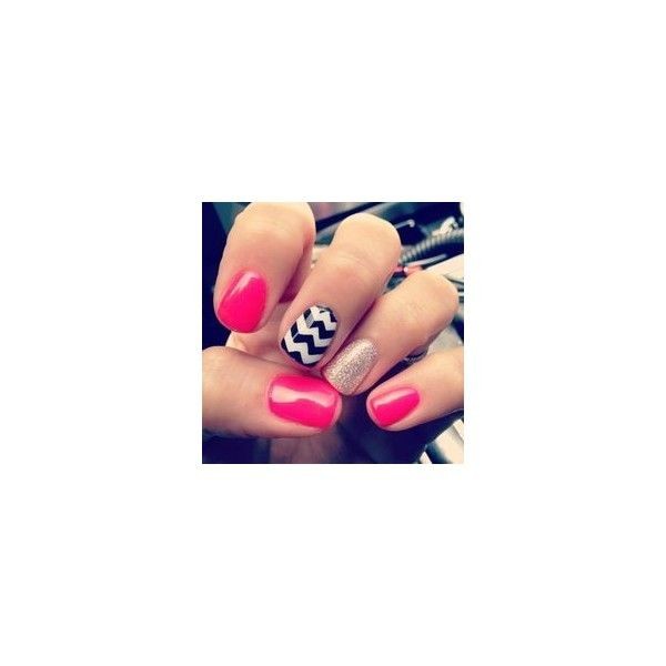 Nail Designs For Short Nails Tumblr Liked On Polyvore Featuring