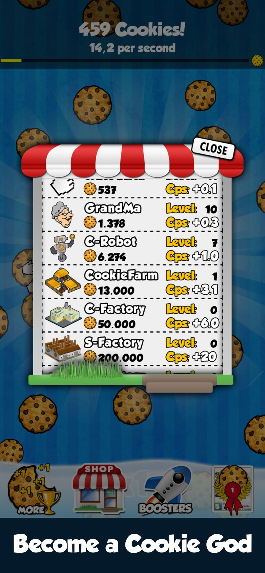 Cookie Clickers EntertainmentStrategyiosFamily 3d