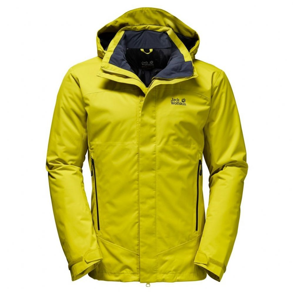 Winter Rain And Snow Protection The Northern Edge Is A No Frills Functional Winter Jacket It S Waterproof And Warmly In Waterproof Jacket Jackets Jack Wolfskin