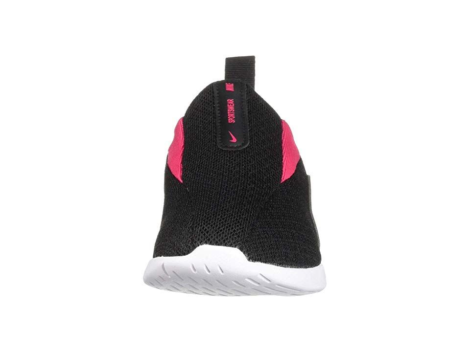 2f9e3f228050 Nike Kids Viale (Infant Toddler) Girls Shoes Black Rush Pink White ...