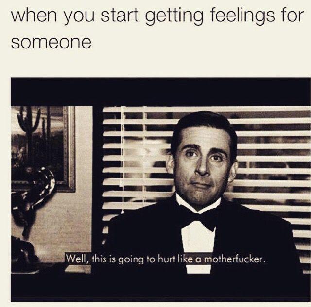 catching feelings