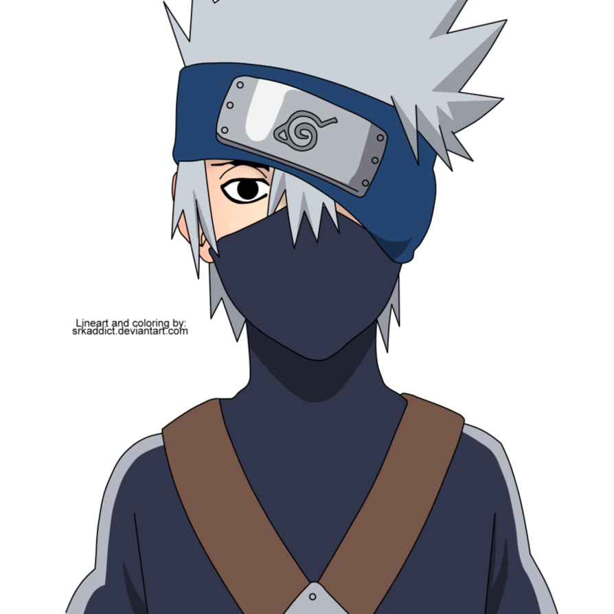 Kakashi Gaiden Colored by