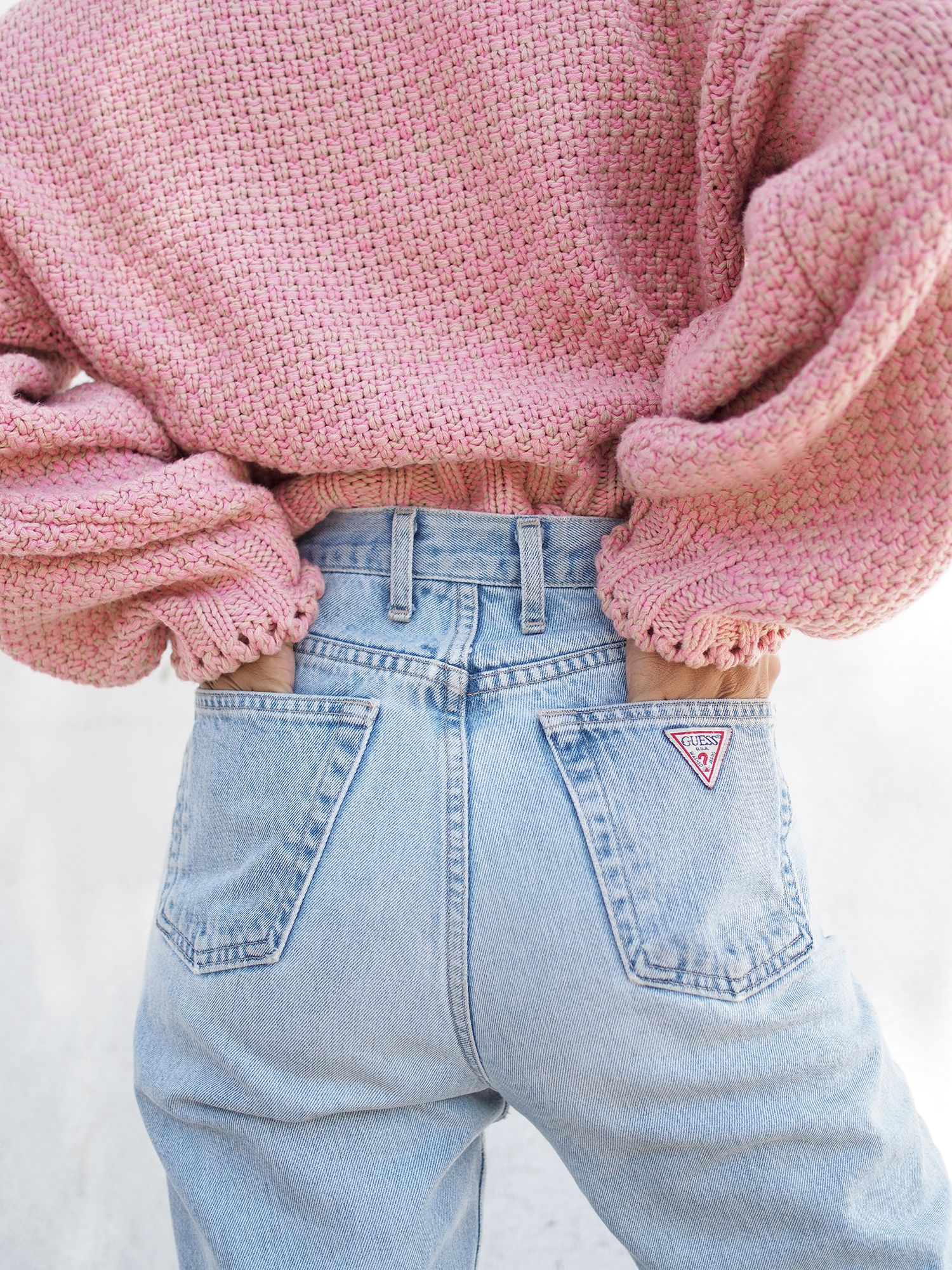 d54266dc27e CHUNKY PINK KNIT - Unconscious Style  shhtephs Chunky Pink Knit Sweater –  H M