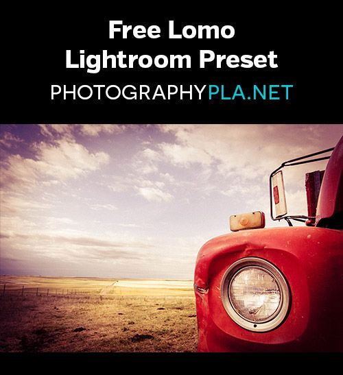 Free Lomo Lightroom Preset - plus a tutorial showing how to create the effect from scratch.