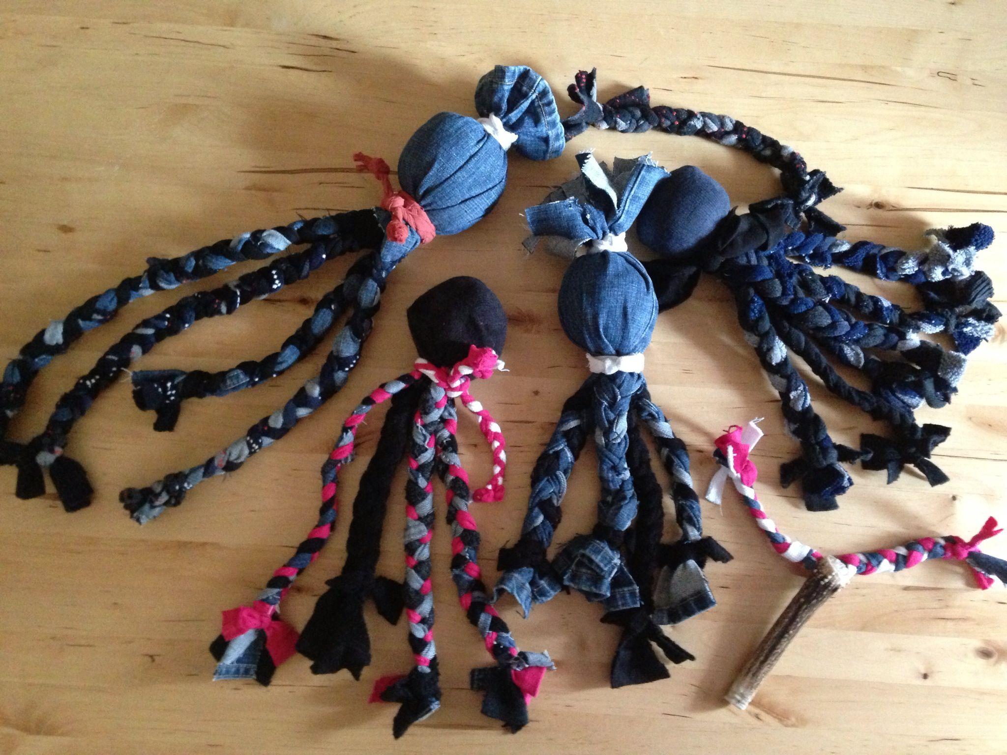 Toys dog socken krake spielzeug handmade