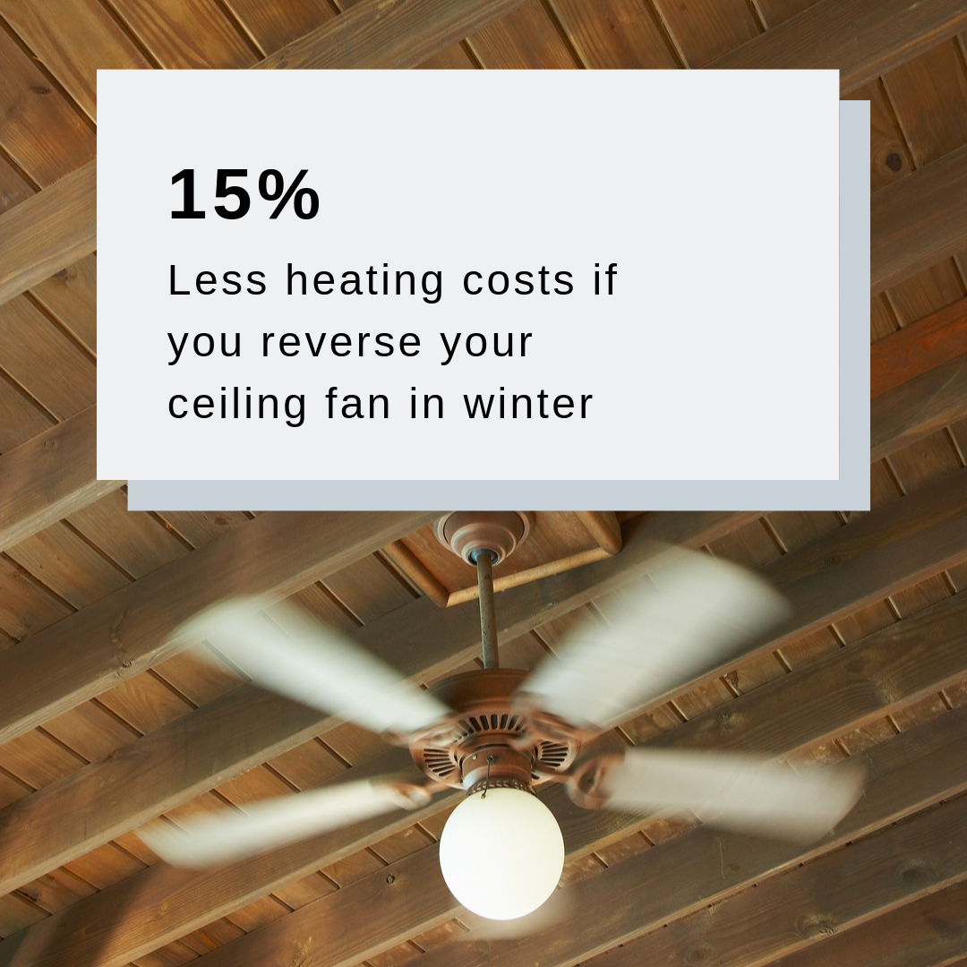 Reduce your heating costs in winter Energy saving tips
