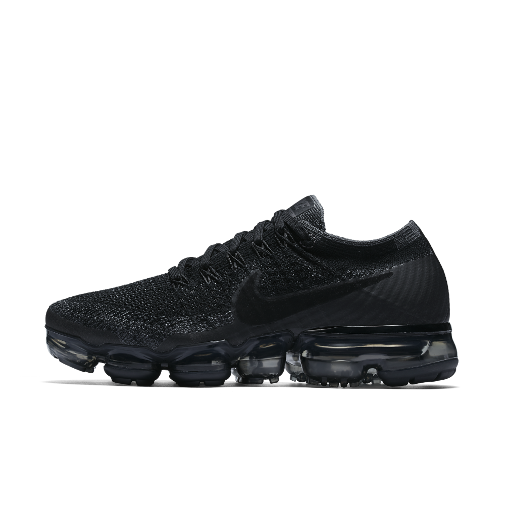 Nike Air VaporMax Flyknit Women's Running Shoe Size 9 (Black