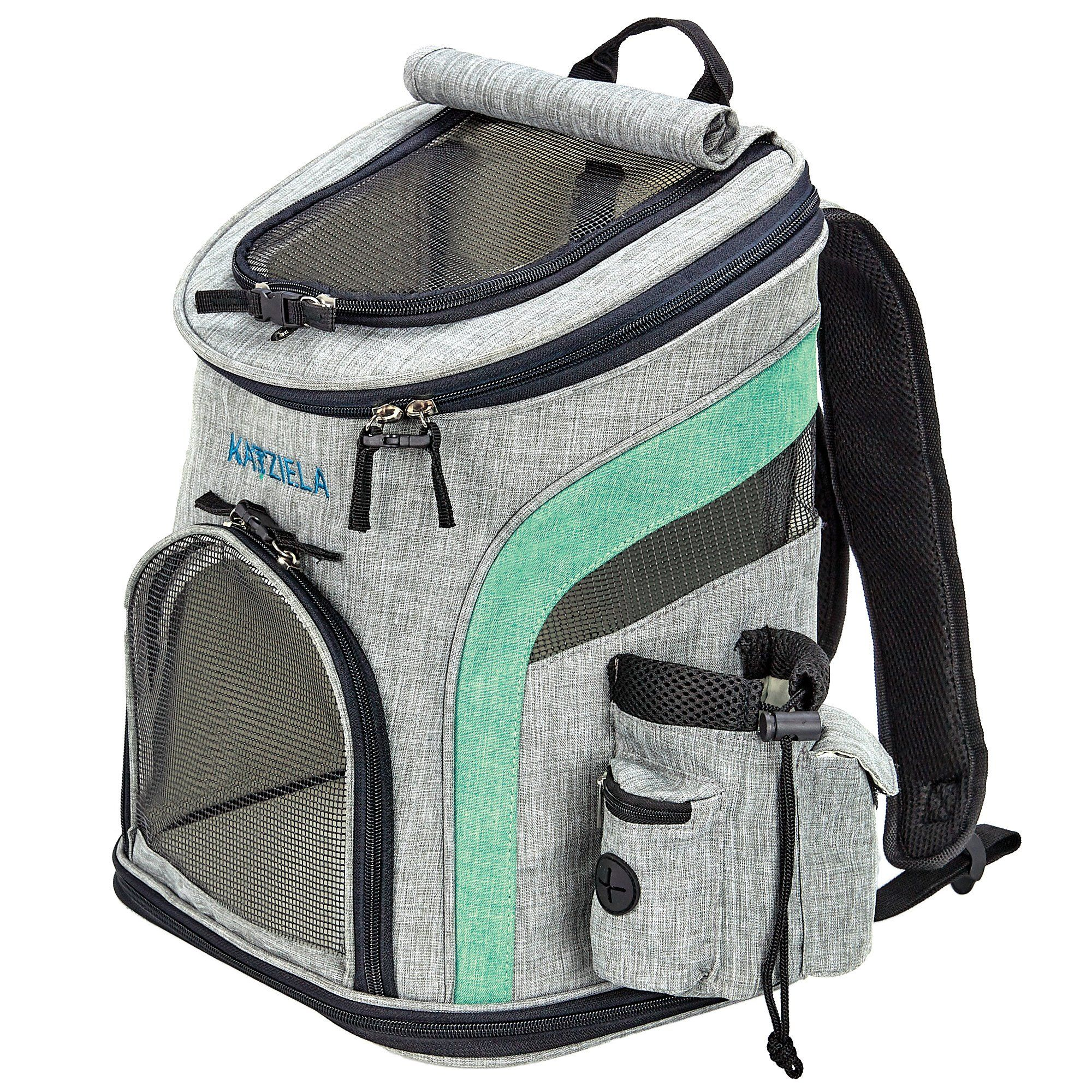 Katziela Airline Approved Backpack For Pets Dog Carrier Bag Pet