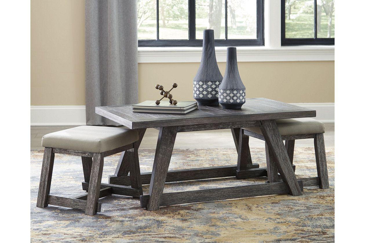 Harpoli Coffee Table Ashley Furniture Homestore Coffee Table With Seating Coffee Table With Stools Furniture [ 840 x 1260 Pixel ]
