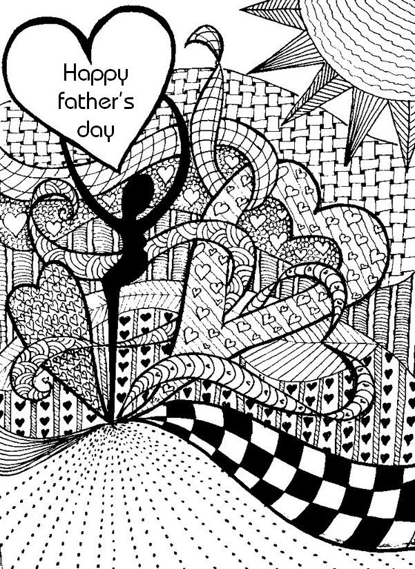 Kleurplaten Dieren Voor Volwasenen Pin By Debbie House On Card Making Fathers Day Coloring