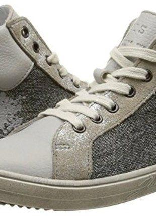 d1189376b586c À vendre sur  vintedfrance ! http   www.vinted.fr mode-enfants filles- chaussures 28220038-sneakers-hautes-fille-ikks-pointure-38-neuves