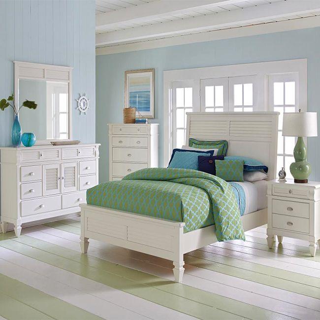 Juego De Habitacion Color Blanco Contemporaneo Habitacion Muebles Hogar