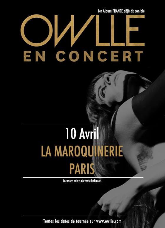 Owlle - La maroquinerie 10.04.14