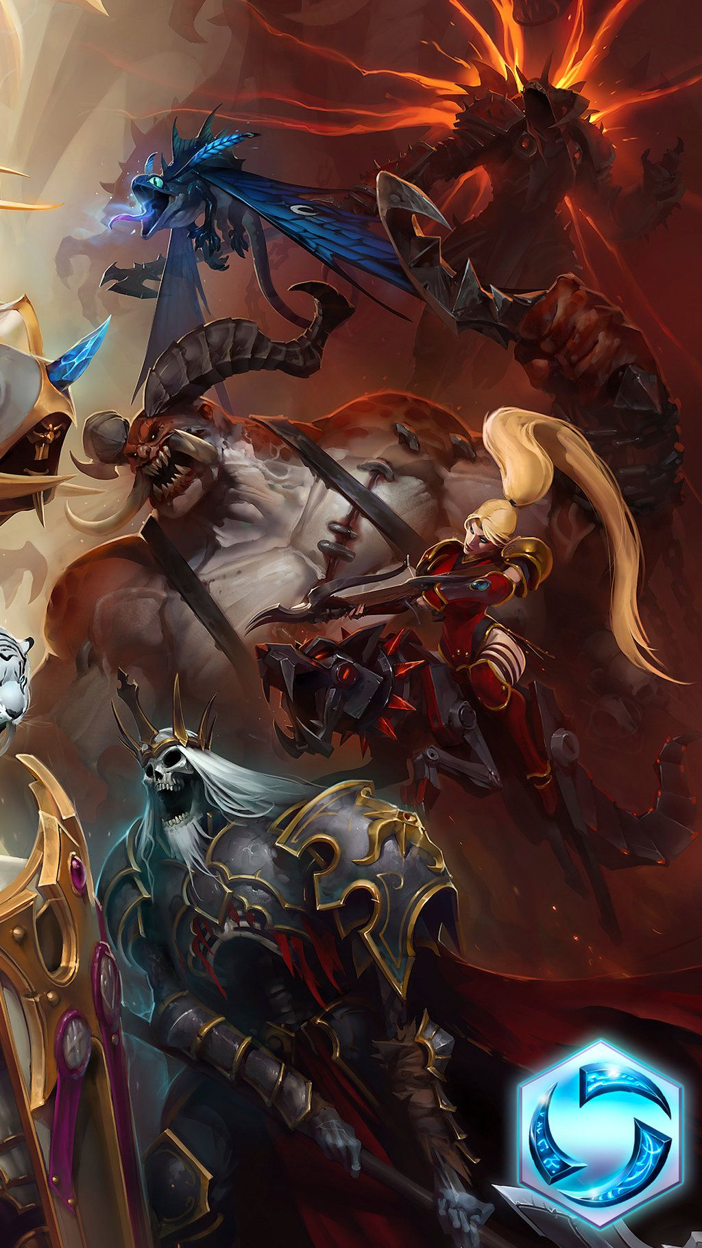 Heroes Of The Storm Apple Iphone 6 750x1334 11