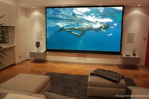 beamer leinwand wohnzimmer - Google-Suche Media room Pinterest - beamer im wohnzimmer