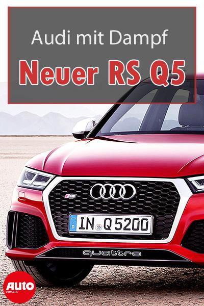 Audi Rs Q5 2019 Neue Informationen Update Autozeitung De Audi Rs Audi Autos