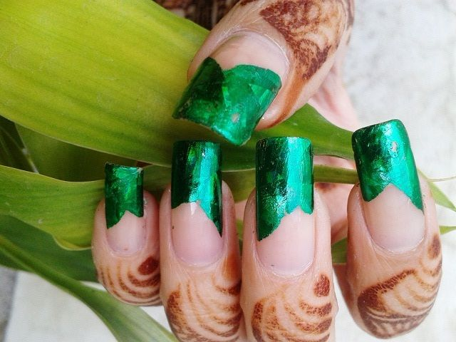Nail Art For Beginners 2018: How To Do Transfer Foil Nail Art