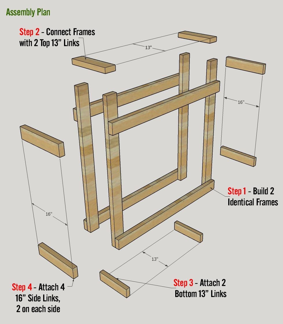 4 Free Firewood Rack Plans Built From 2x4s Two Under 30 Firewood Rack Plans Firewood Rack Firewood Storage Outdoor