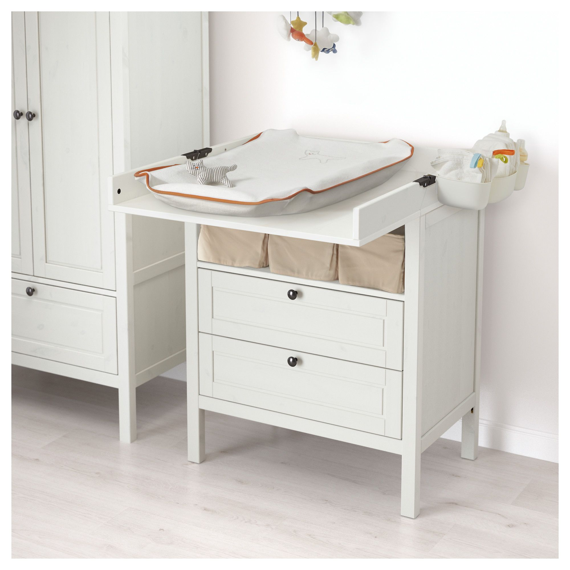 SUNDVIK Changing table/chest of drawers White